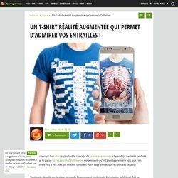 Un t-shirt réalité augmentée qui permet d'admirer vos entrailles !