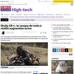 Skully AR-1 : le casque de moto à réalité augmentée arrive