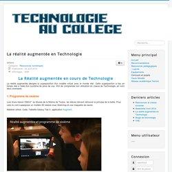 En Technologie : 6ème et 5ème