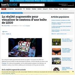 La réalité augmentée pour visualiser le contenu d'une boîte de LEGO