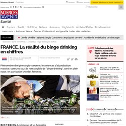 FRANCE. La réalité du binge drinking en chiffres - 1 avril 2015