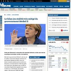 Le bilan (en réalité) très mitigé du gouvernement Merkel II