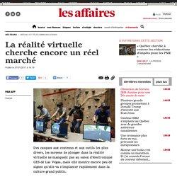 La réalité virtuelle cherche encore un réel marché