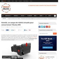 Homido, un casque de réalité virtuelle pour concurrencer Oculus Rift