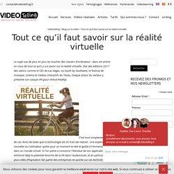 Réalité Virtuelle - Une étude sur tout ce qu'il faut savoir