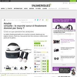 Réalité virtuelle: le marché sera-t-il finalement dominé par Sony?