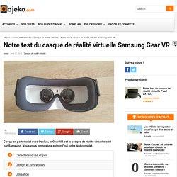 Notre test du casque de réalité virtuelle Samsung Gear VR - objeko.com