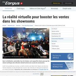 La réalité virtuelle pour booster les ventes dans les showrooms – L'argus PRO
