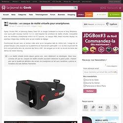 Homido : un casque de réalité virtuelle pour smartphones
