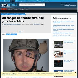 Un casque de réalité virtuelle pour les soldats