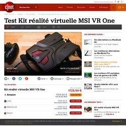 Kit réalité virtuelle MSI VR One : test et avis