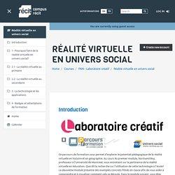 Réalité virtuelle en univers social