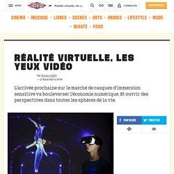Réalité virtuelle, les yeux vidéo