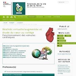 Réalités virtuelle/augmentée et étude du cœur au collège
