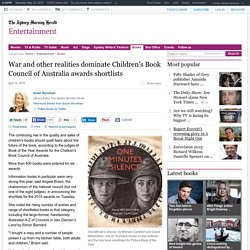 War and other realities dominate Children's Book Council of Australia awards shortlists