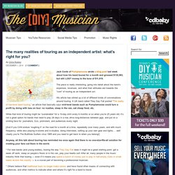 The many realities of band touring: what's right for you? DIY Musician Blog