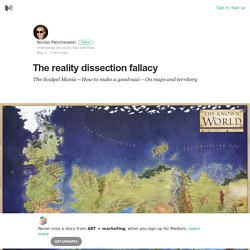 The reality dissection fallacy – ART + marketing