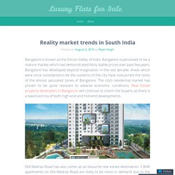 Reality market trends in South India