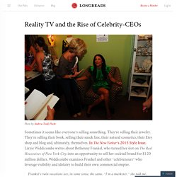 Reality TV and the Rise of Celebrity-CEOs