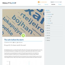 Realityloop. Drupal Development Melbourne