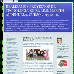 CURSO 2011-2012. Proyectos Ámbito Práctico de 3º.