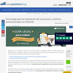 Guía legal para la realizar sorteos promocionales en Internet