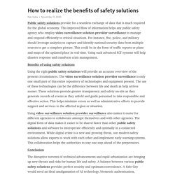 How to realize the benefits of safety solutions