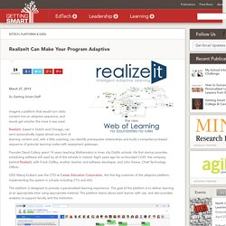 RealizeIt Can Make Your Program Adaptive