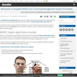 Realizzare un progetto MOOC con il Learning Management System Docebo
