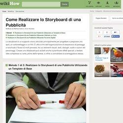 3 Modi per Realizzare lo Storyboard di una Pubblicità