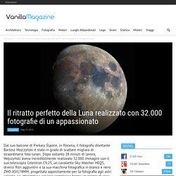 Il ritratto perfetto della Luna realizzato con 32.000 fotografie di un appassionato