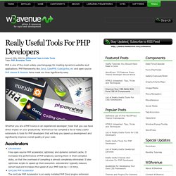 Really Useful Tools For PHP Developers
