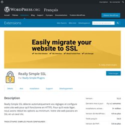 Really Simple SSL – Extension WordPress