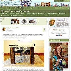 Pioneer Woman Home & Garden
