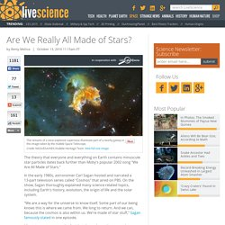 Cosmos, Moby's Song 'We Are All Made of Stars', Universe & Solar System