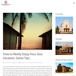 Best Hotels and Resorts Near Agonda Beach Goa
