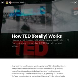 How TED (Really) Works — The Message