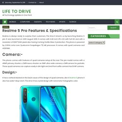 Realme 5 pro features & specifications