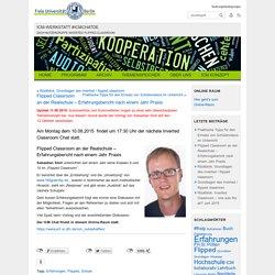 ICM-Werkstatt #icmchatde » Blog Archiv » Flipped Classroom an der Realschule – Erfahrungsbericht nach einem Jahr Praxis