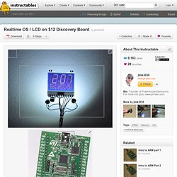 Realtime OS / LCD on $12 Discovery Board