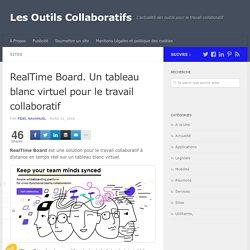 RealTime Board. Un tableau blanc virtuel pour le travail collaboratif