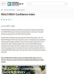 REALTORS® Confidence Index
