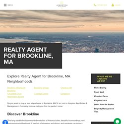 Realty Services in Brookline, MA