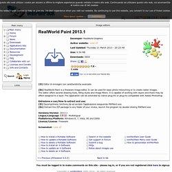 RealWorld Paint Portatile