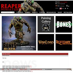 Reaper Miniatures :: News