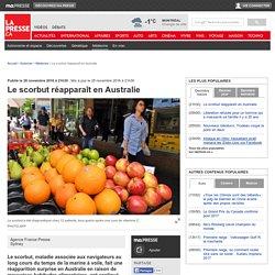 Le scorbut réapparaît en Australie