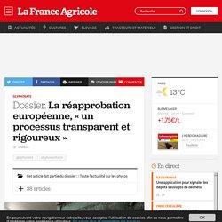 Glyphosate : La réapprobation européenne, «un processus transparent et rigoureux»