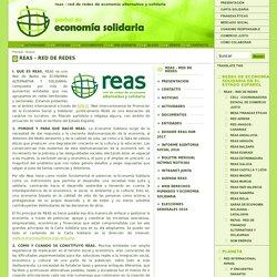 REAS - RED DE REDES