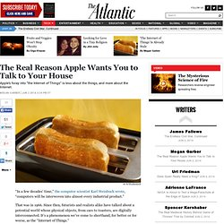 The Real Reason Apple Wants You to Talk to Your House