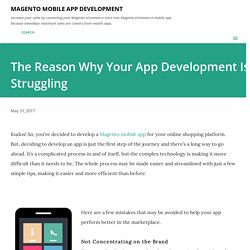 The Reason Why Your App Development Is Struggling